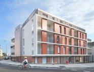 """40 logements """"Résidence 76° Sud"""" Joué-lès-Tours (37)"""