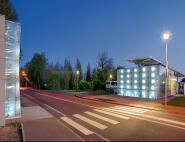 Gare routière et parking public - La Flèche (72)