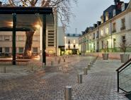 Aménagement des espaces extérieurs de l'hôpital Clocheville - Tours (37)